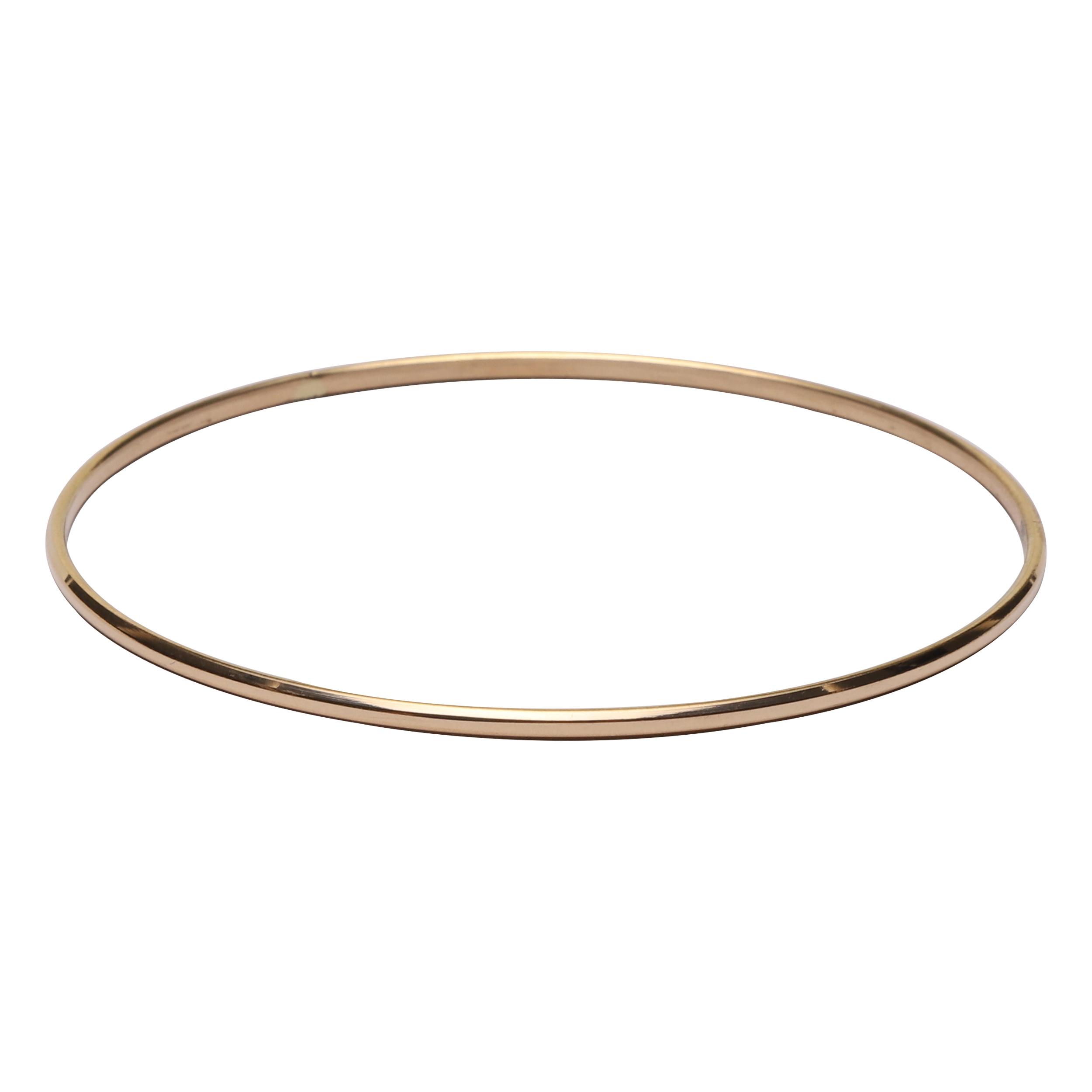 النگو طلا 18 عیار زنانه گوی گالری کد G390