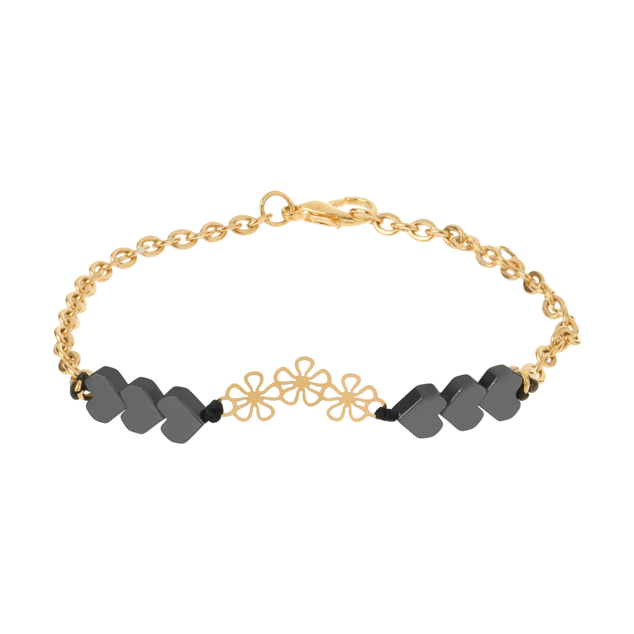 دستبند طلا 18 عیار زنانه الن نار مدل S.30