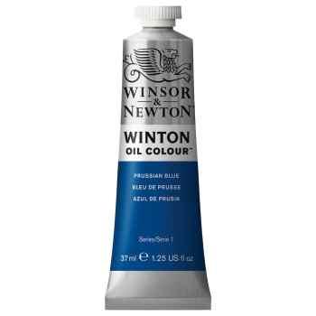 رنگ روغن وینزور اند نیوتون مدل PRUSSIAN BLUE 33 حجم 37 میلی لیتر