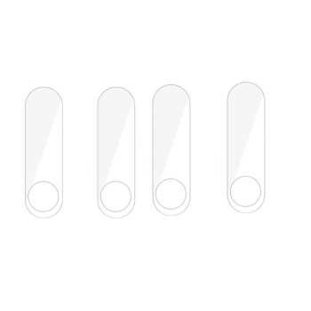 محافظ صفحه نمایش مدل mb2 مناسب برای مچ بند Mi Band 2 بسته 4 عددی