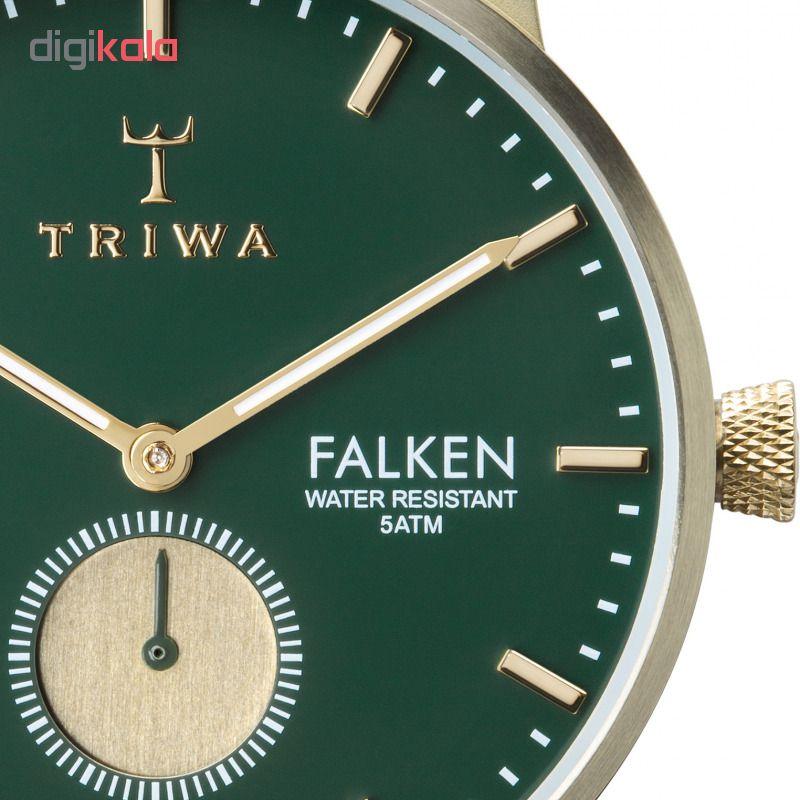 ساعت مچی عقربه ای تریوا مدل Pine Falken