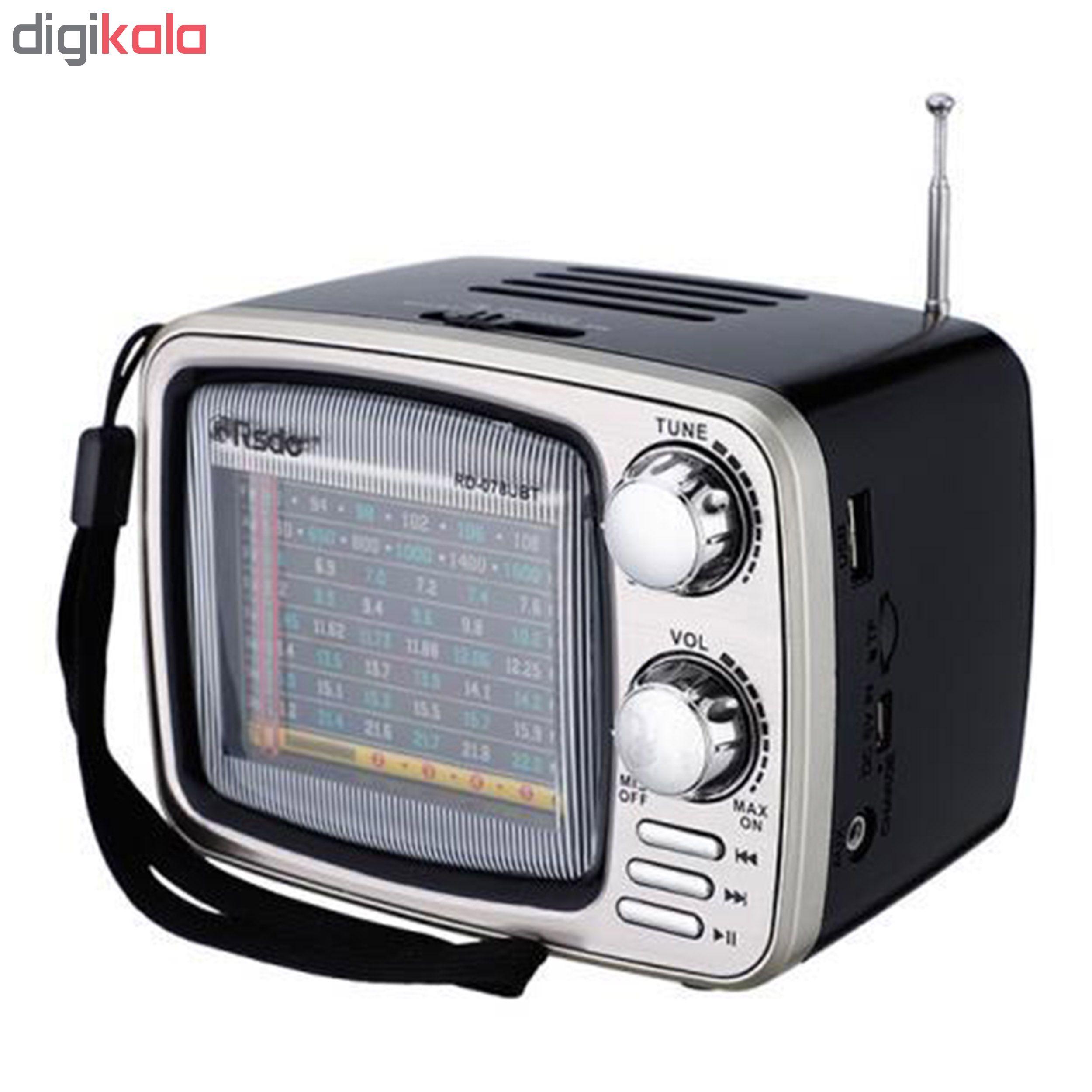 رادیو ار اس دی او مدل RD-078UBT