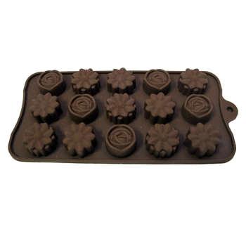 قالب شکلات طرح سه گل