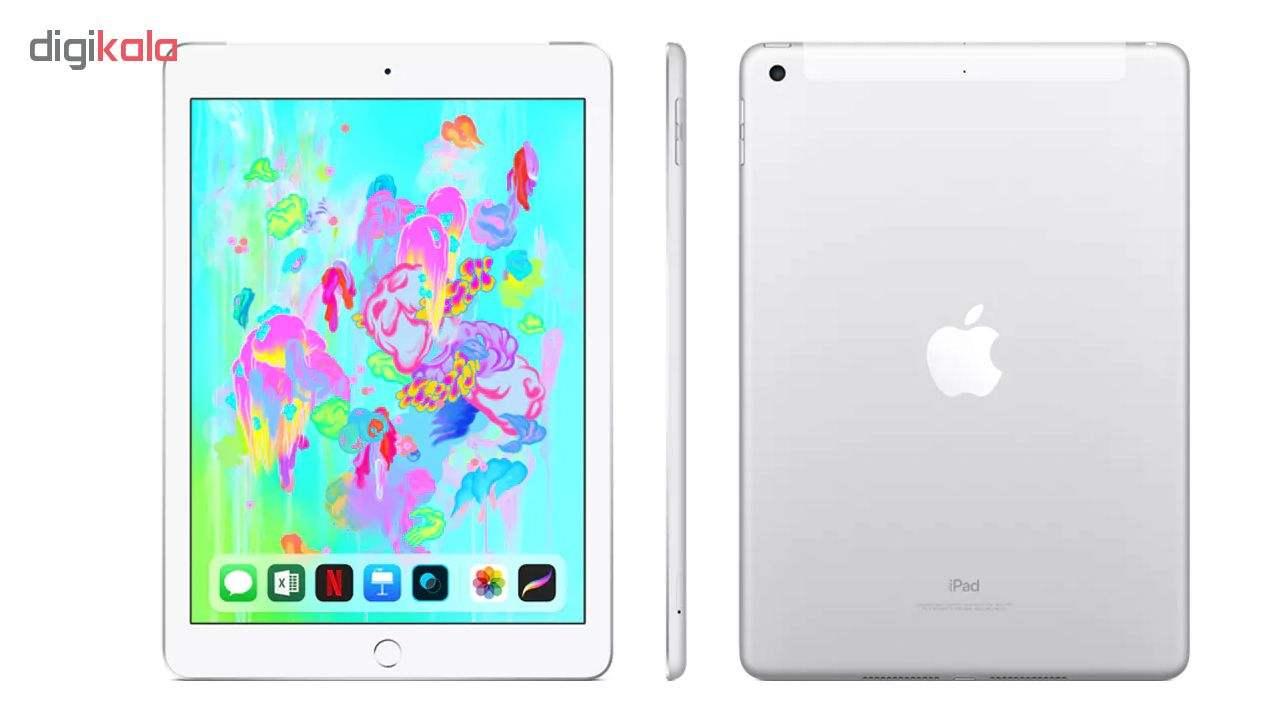 تبلت اپل مدل iPad 9.7 inch (2018) 4G ظرفیت 128 گیگابایت main 1 8