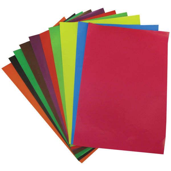 کاغذ رنگی مدل C10 سایز 24×34 سانتی متر بسته 20 عددی