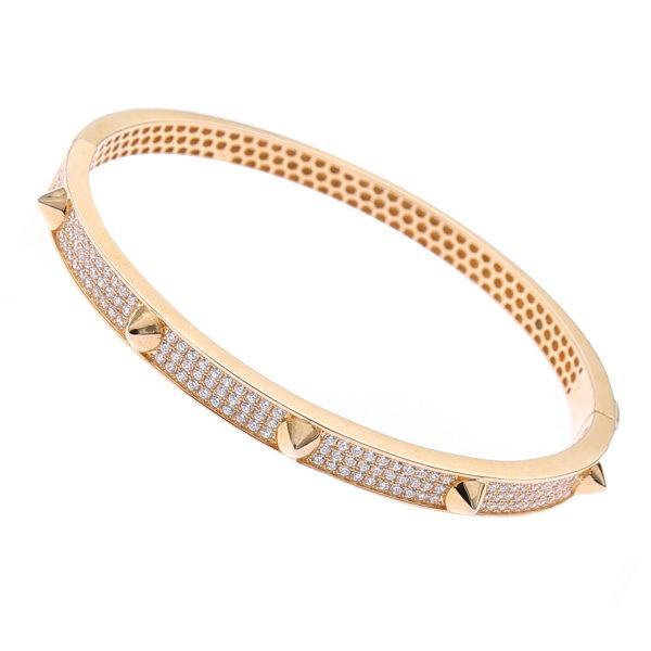 دستبند نقره زنانه هلیسا کد MHB080