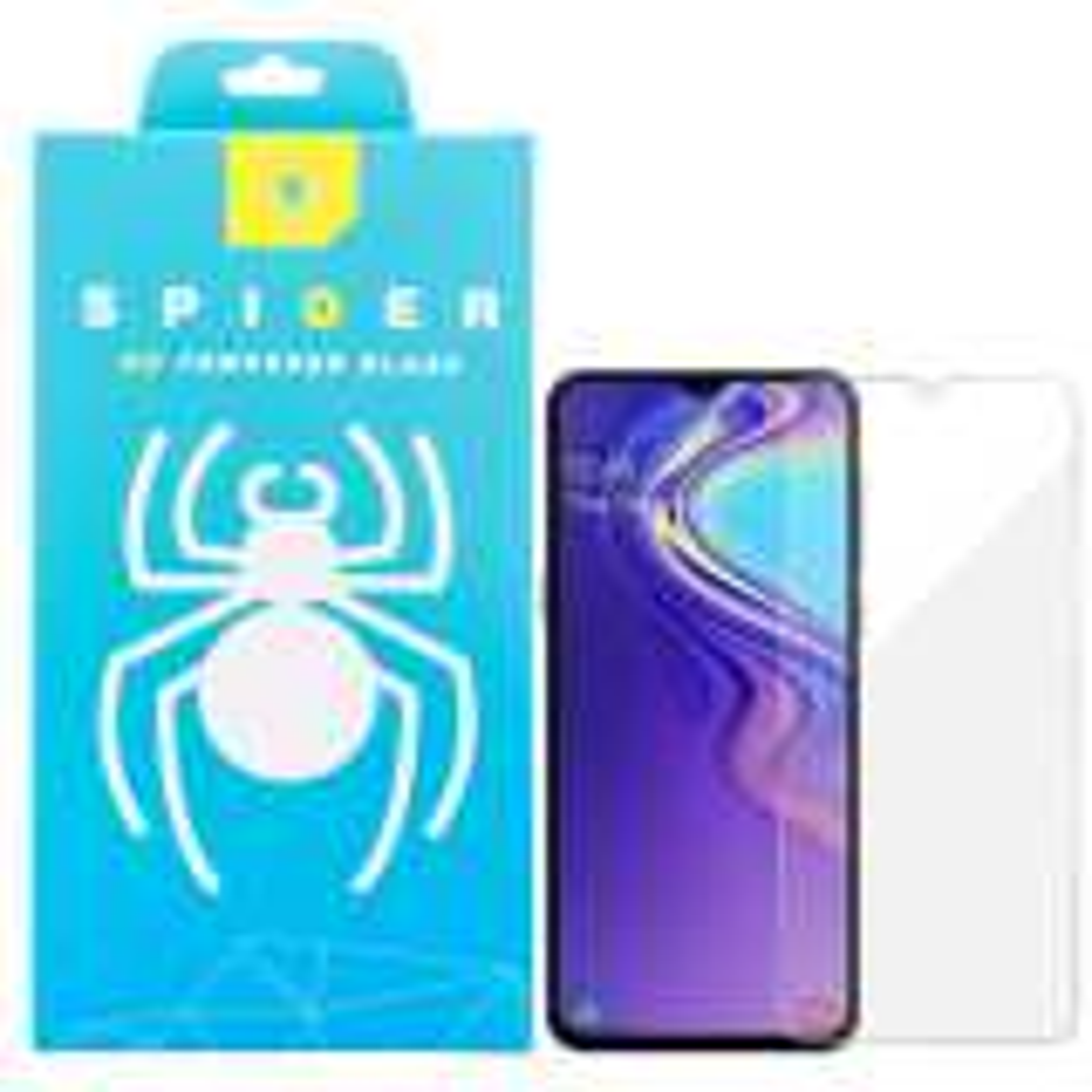 محافظ صفحه نمایش اسپایدر مدل light مناسب برای گوشی موبایل سامسونگ Galaxy A20