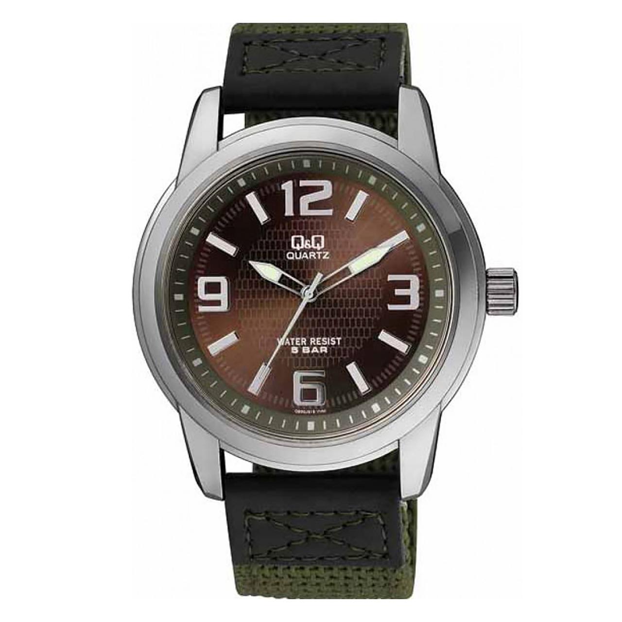 ساعت مچی عقربه ای مردانه کیو اند کیو مدل q930j505y