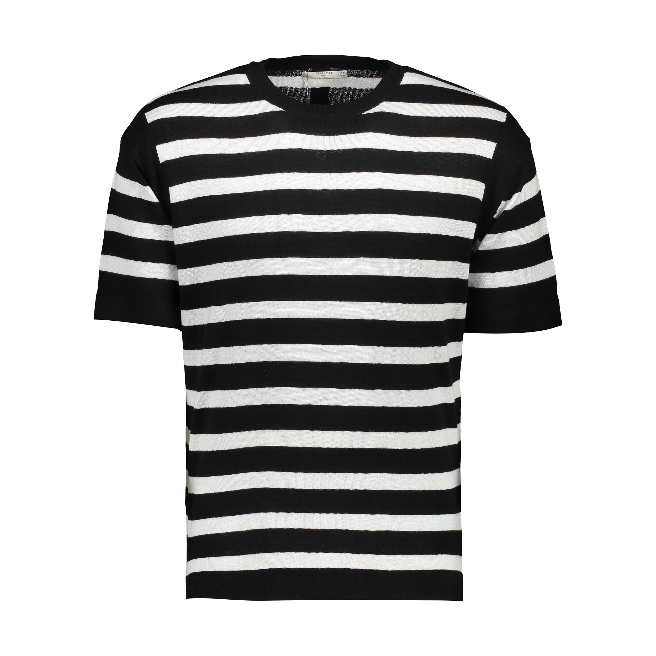تی شرت  آستین کوتاه مردانه - مانگو
