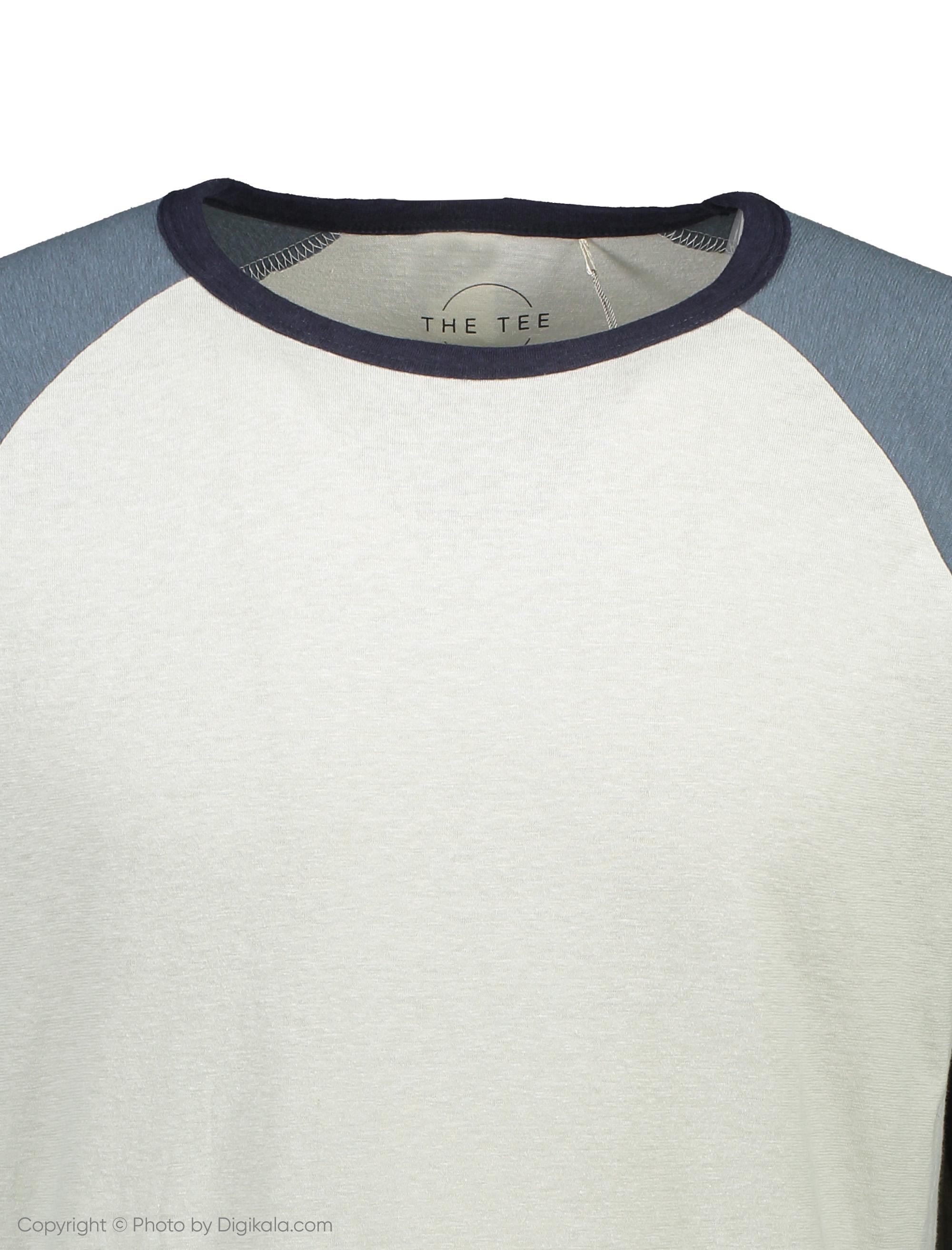 تی شرت آستین بلند مردانه - مانگو