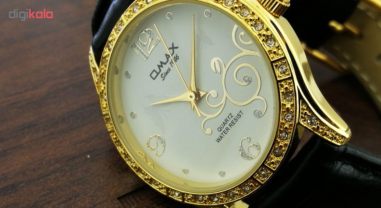 ساعت مچی عقربه ای زنانه اوماکس مدل gl0272gb