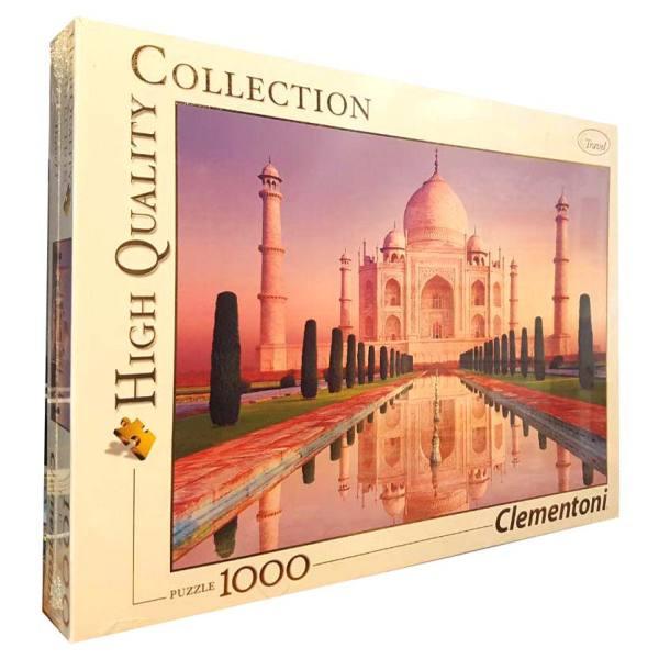 پازل 1000 تکه کلمنتونی مدل Taj Mahal