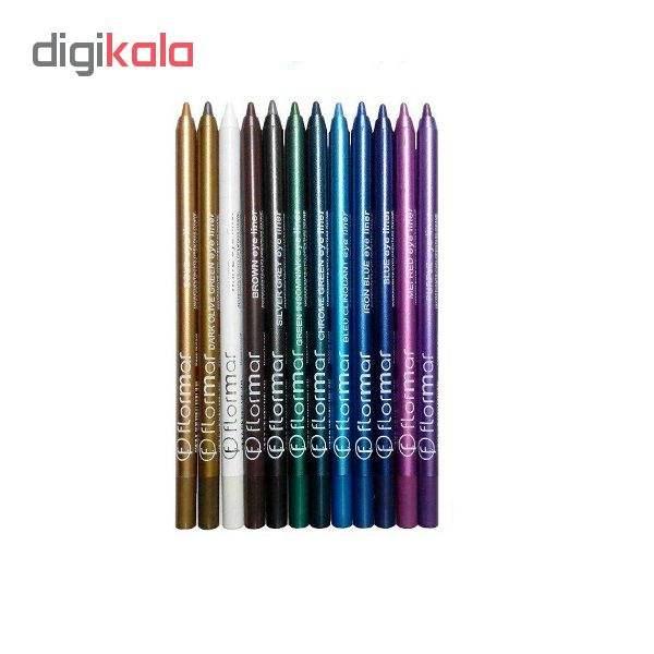 مداد چشم فلورمار مدل 1015 بسته 12 عددی main 1 1