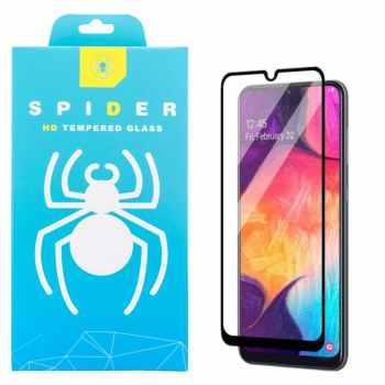 محافظ صفحه نمایش 9D اسپایدر مدل Pro مناسب برای گوشی موبایل سامسونگ Galaxy A20