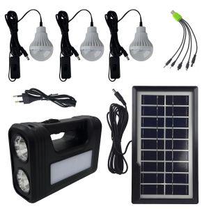 سیستم روشنایی خورشیدی جی دی پلاس مدل GD-8017