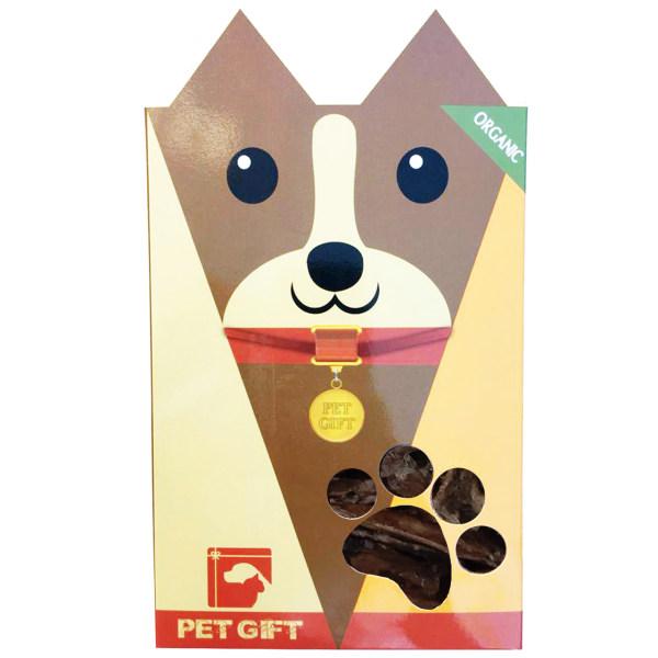 اسنک تشویقی سگ پت گیفت مدل jig01 وزن 100 گرم