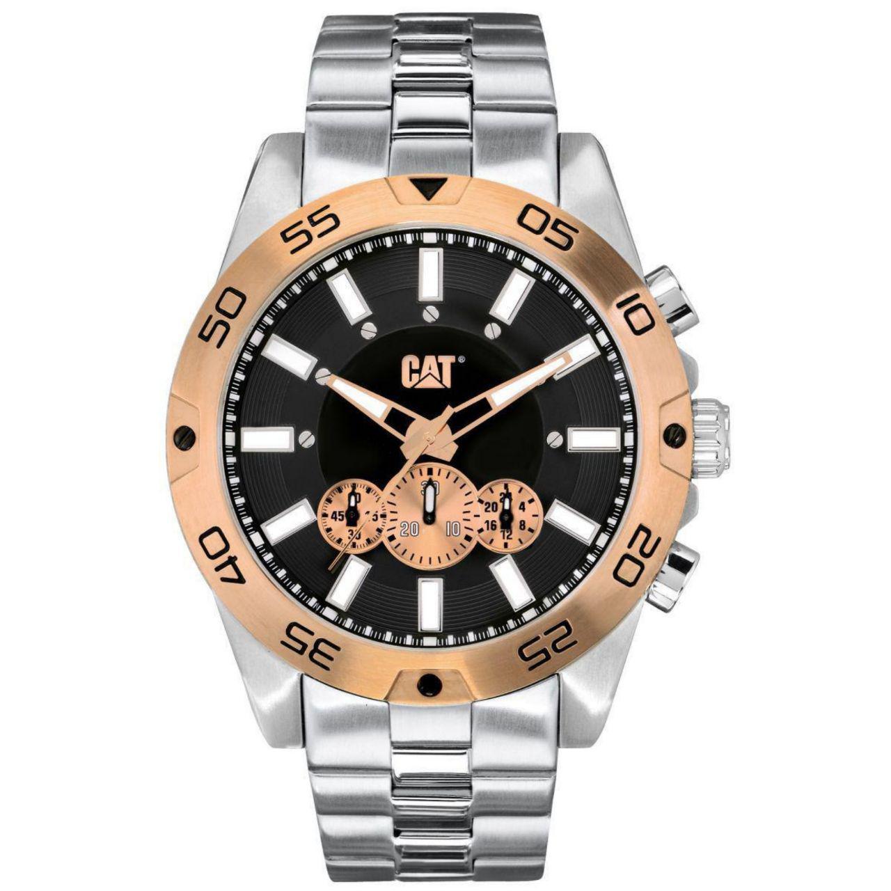 ساعت مچی عقربه ای مردانه کاترپیلار مدل IN.143.11.129