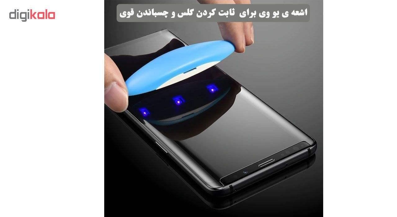محافظ صفحه نمایش یووی لایت ورکس مدل LMT1 مناسب برای گوشی موبایل سامسونگ Galaxy Note 9 main 1 2