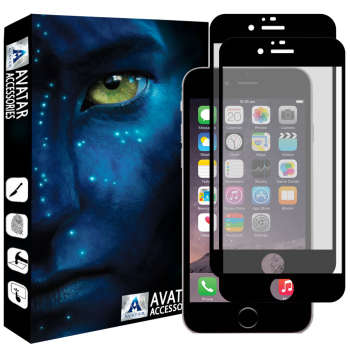 محافظ صفحه نمایش آواتار مدل I7P-2 مناسب برای گوشی موبایل اپل iPhone 7 plus بسته 2 عددی