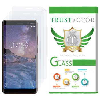 محافظ صفحه نمایش تراستکتور مدل GNF مناسب برای گوشی موبایل نوکیا 7 Plus بسته سه عددی