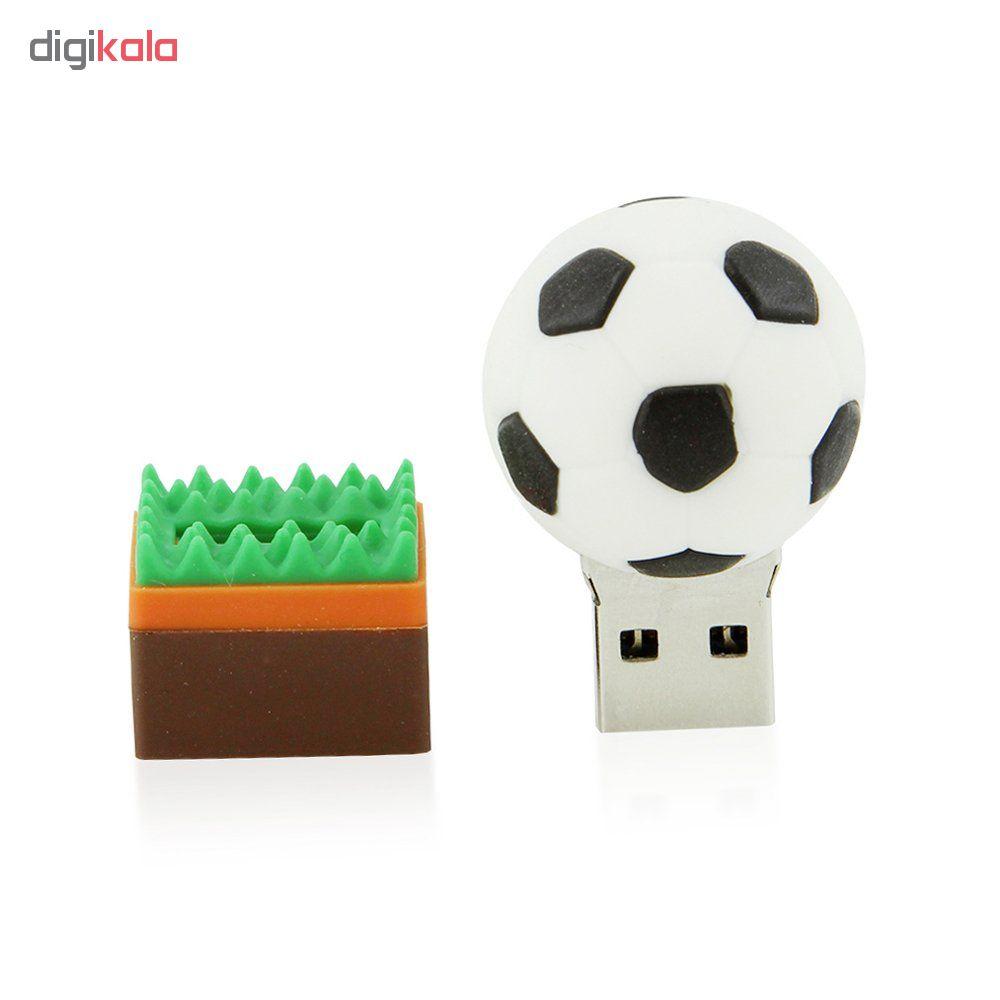 فلش مموری طرح توپ فوتبال مدل Ultita -FB02 ظرفیت 8 گیگابایت