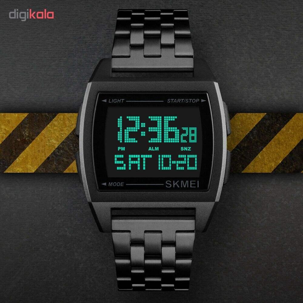 ساعت مچی دیجیتال اسکمی کد 1368B -  - 2