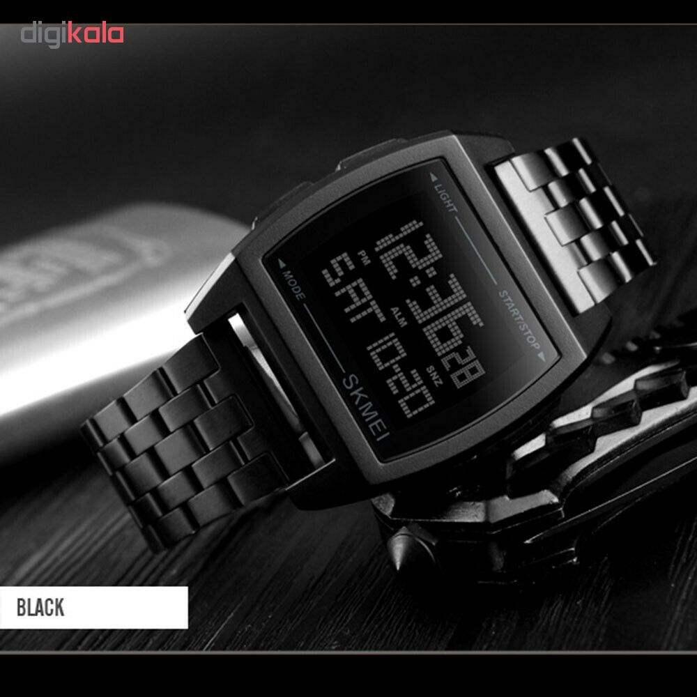 ساعت مچی دیجیتال اسکمی کد 1368B -  - 3