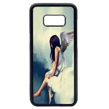 کاور طرح دختر کد 1105408529 مناسب برای گوشی موبایل سامسونگ galaxy s8