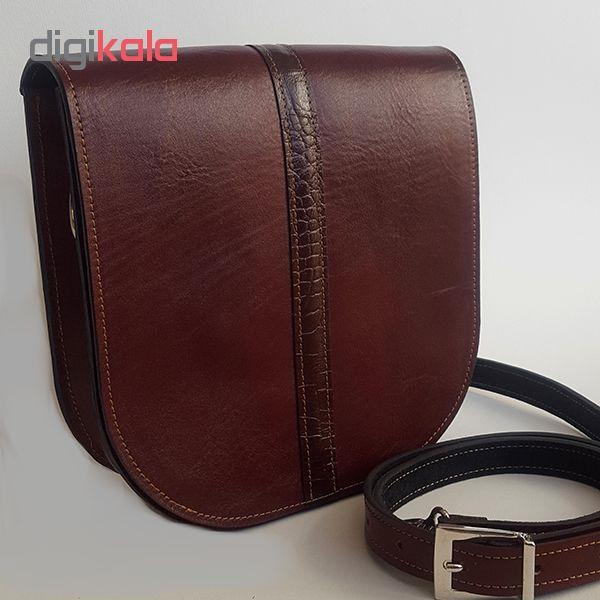 کیف دوشی زنانه کد kdz02