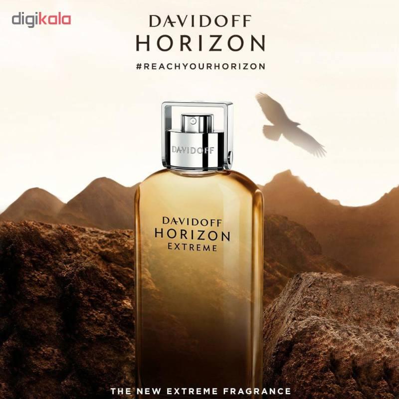 تستر ادو پرفیوم مردانه داویدف مدل Horizon Extreme حجم 125 میلی لیتر