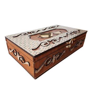 جعبه چای کیسه ای مدل E01