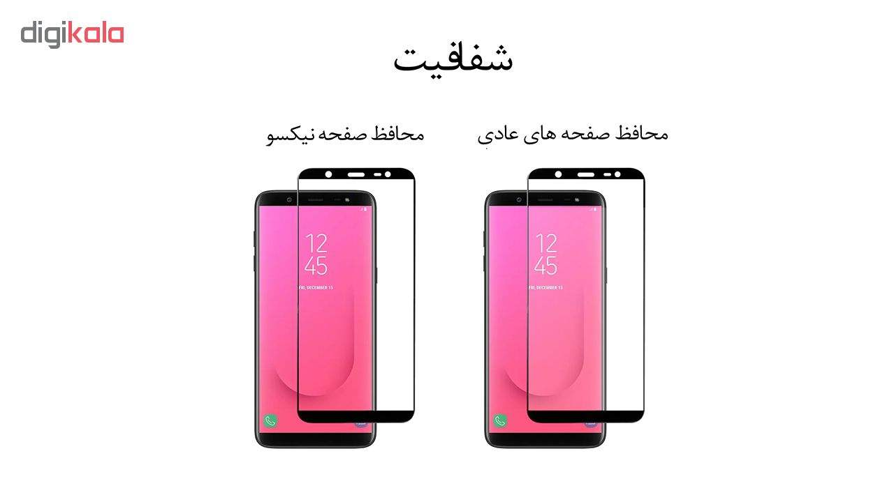 محافظ صفحه نمایش نیکسو مدل FG مناسب برای گوشی موبایل هوآوی Y7 Prime 2019 بسته سه عددی main 1 2