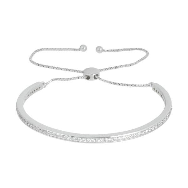 دستبند نقره زنانه کد GB0474