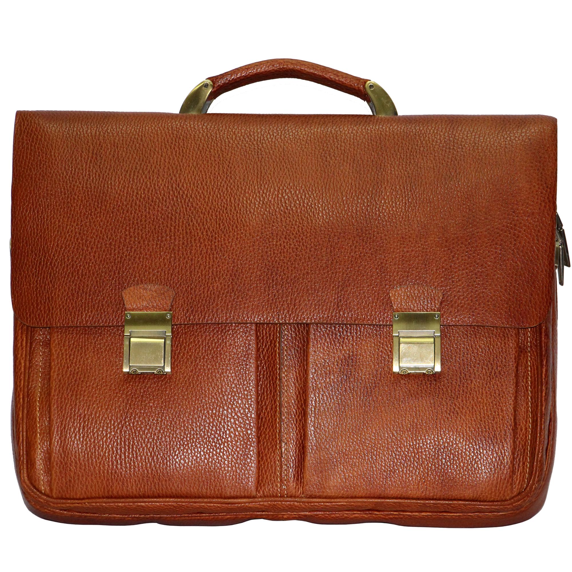 قیمت کیف اداری مردانه آدین چرم مدل DL41