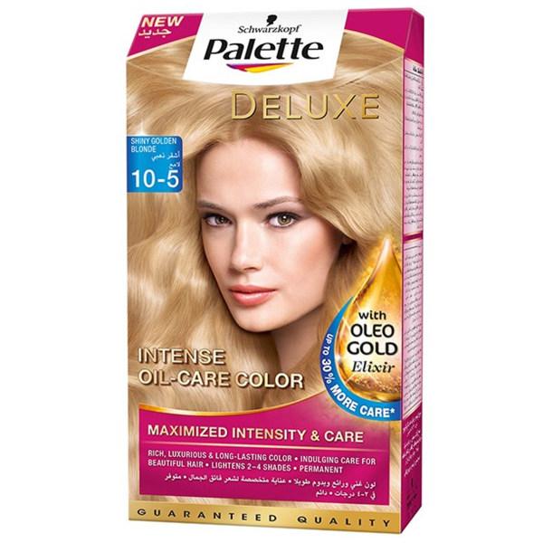 کیت رنگ مو پلت سری Deluxe مدل shiny Golden Shade شماره 5-10