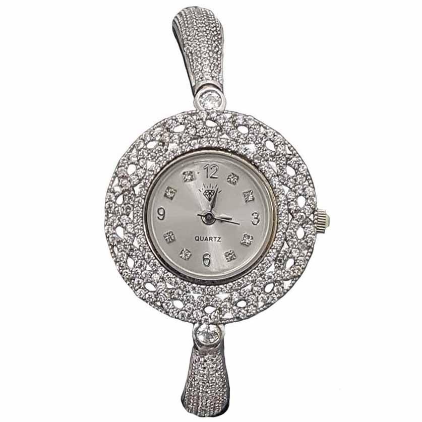 قیمت ساعت مچی عقربه ای زنانه نقره ترمه 1 مدل WT11