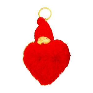 آویز عروسک طرح نوزاد قلبی