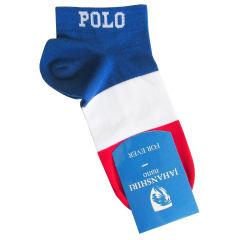 جوراب مردانه جهانشیری طرح پرچم فرانسه غیر اصل