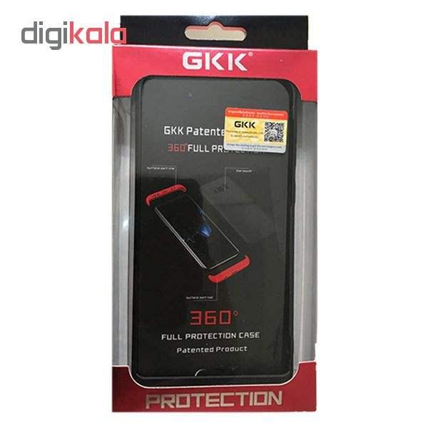 کاور 360 درجه جی کی کی مدل G-02 مناسب برای گوشی موبایل سامسونگ Galaxy A70 main 1 6