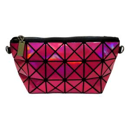 کیف لوازم آرایش طرح هندسی کد SL_01