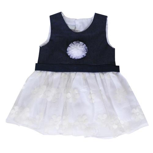 پیراهن نوزادی دخترانه طرح ارکیده کد orkide44