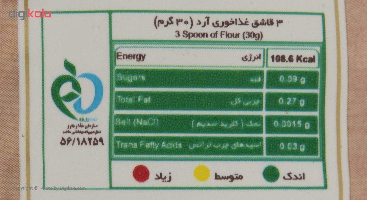 آرد سفید گندم زرماکارون وزن 900 گرم main 1 3