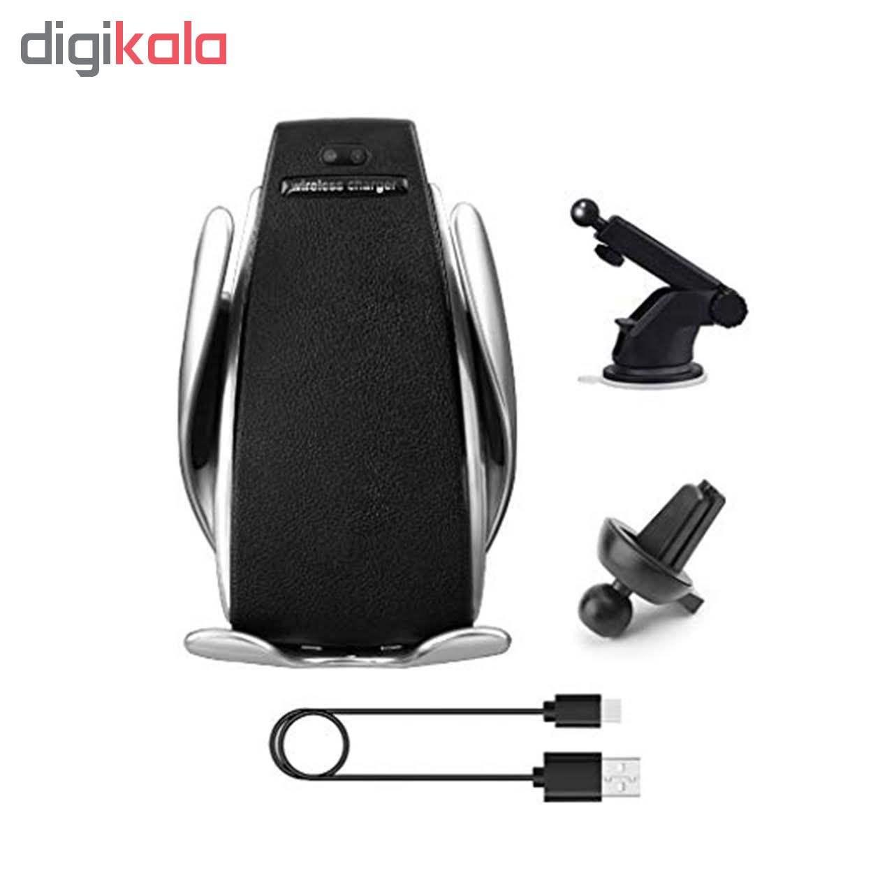 پایه نگهدارنده و شارژر بی سیم گوشی موبایل مدل S5 main 1 11