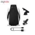 پایه نگهدارنده و شارژر بی سیم گوشی موبایل مدل S5 thumb 11