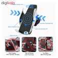 پایه نگهدارنده و شارژر بی سیم گوشی موبایل مدل S5 thumb 14