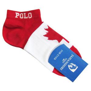 جوراب مردانه جهانشیری طرح پرچم کانادا غیر اصل