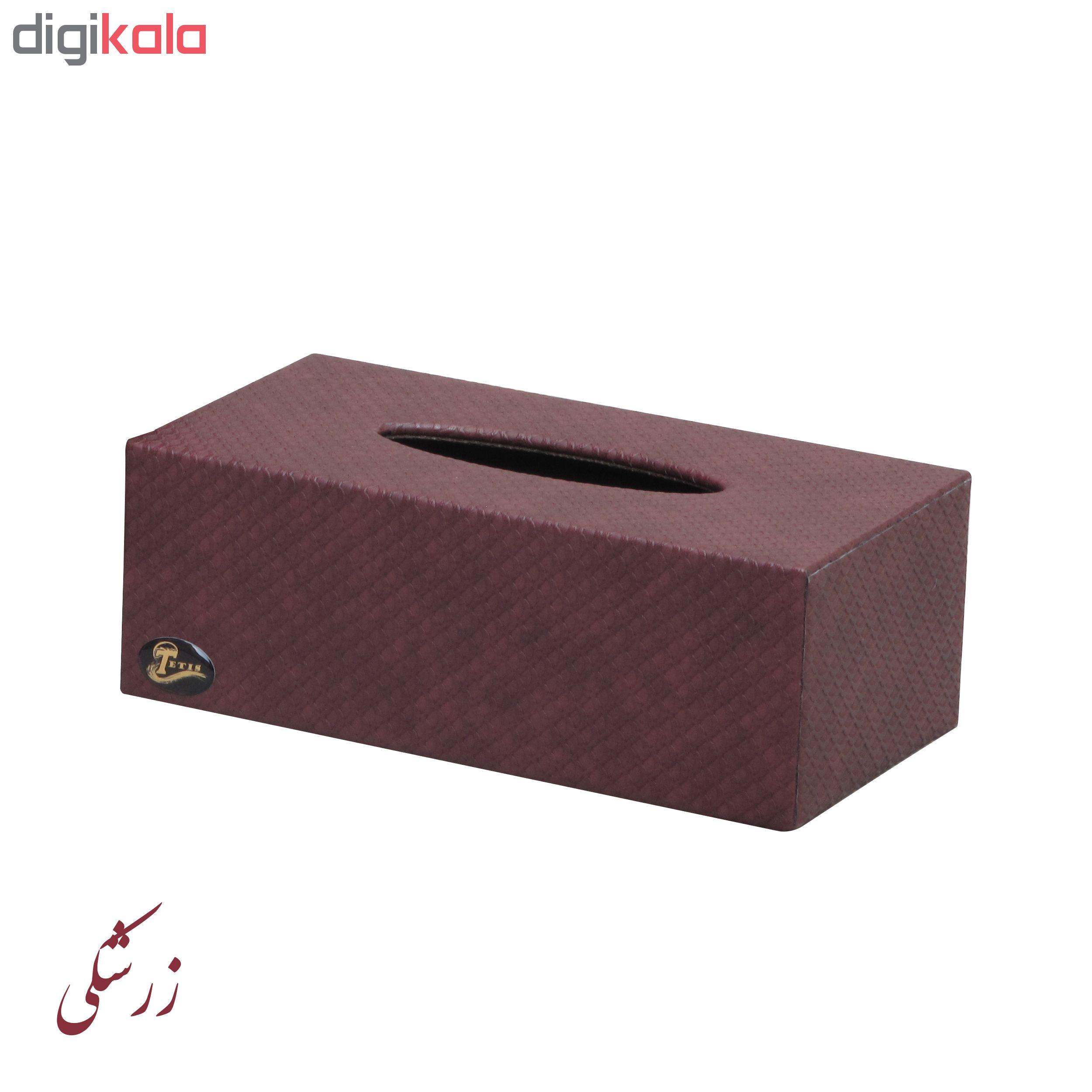 جعبه دستمال کاغذی تتیس مدل M-01