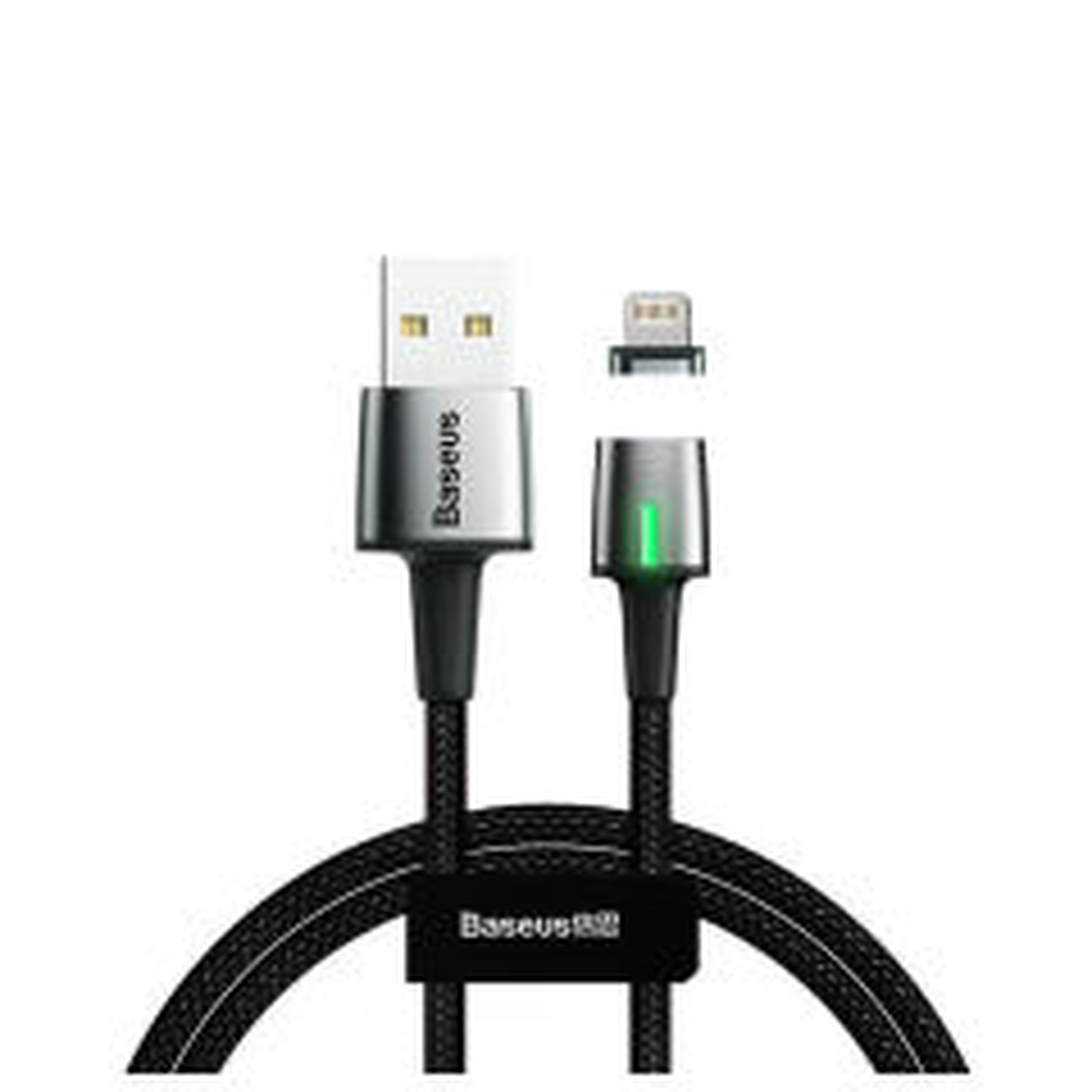خرید اینترنتی [با تخفیف] کابل تبدیل USB به لایتنینگ باسئوس مدل Zinc طول 2 متر اورجینال