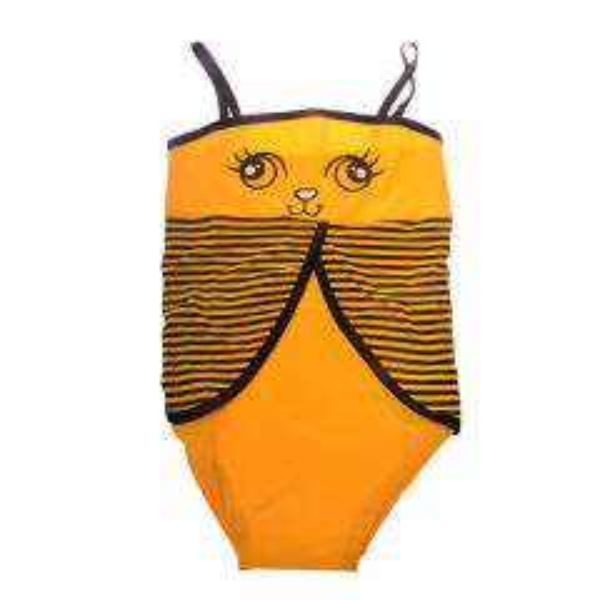 مایو دخترانه طرح زنبور کد 8