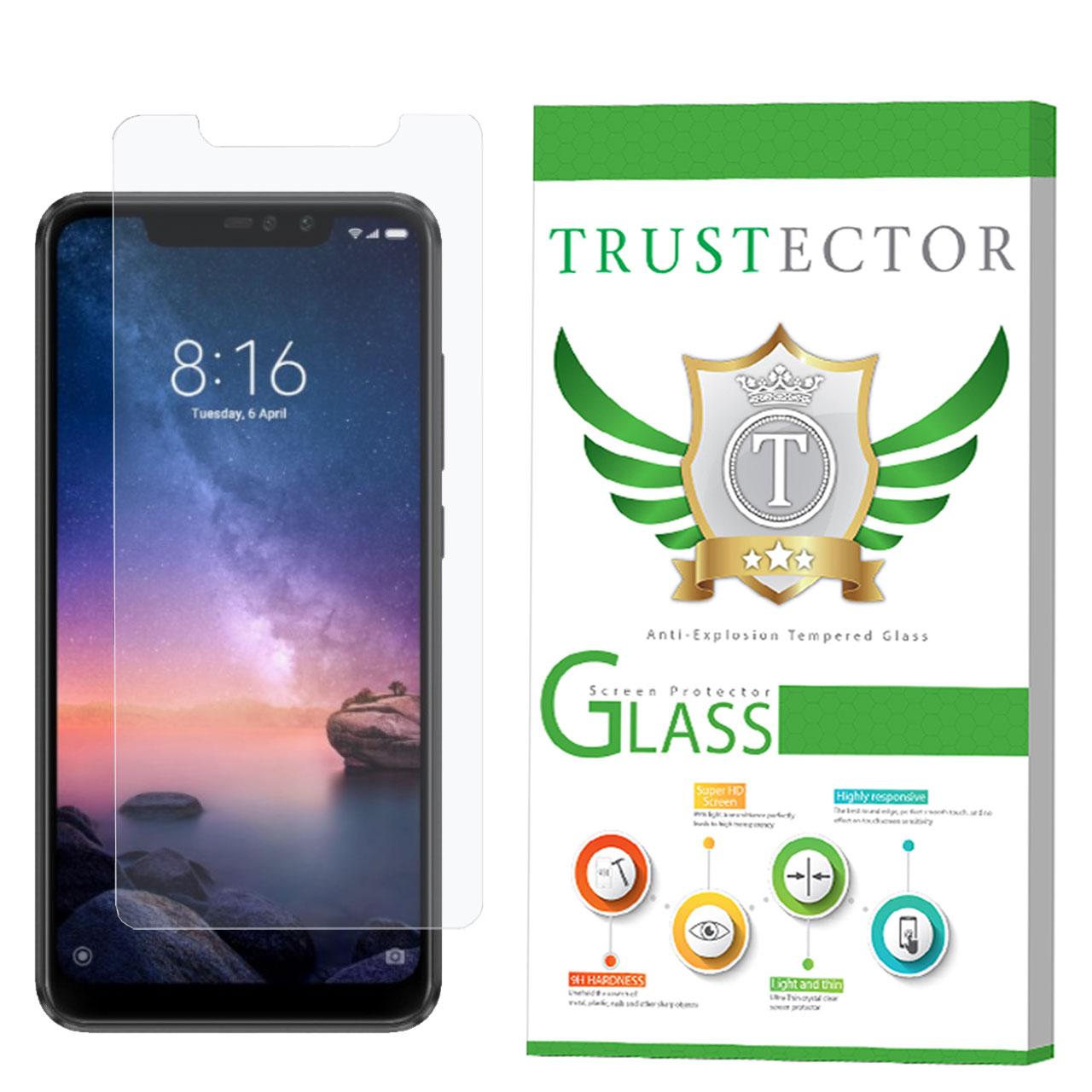 محافظ صفحه نمایش تراستکتور مدل GLS مناسب برای گوشی موبایل شیائومی Redmi Note 6 Pro              ( قیمت و خرید)